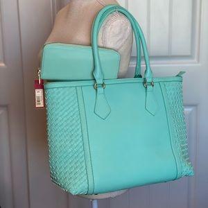 Vibrant Bright Turquoise Shoulder Bag